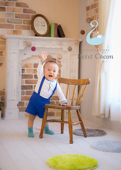 1歳誕生日、バースデーフォトの写真